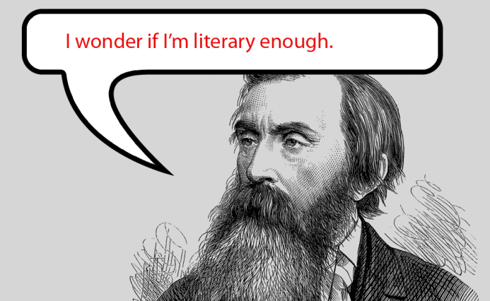 The definition of literary