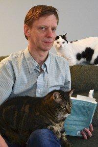 Bob Tarte with Maynard & Frannie