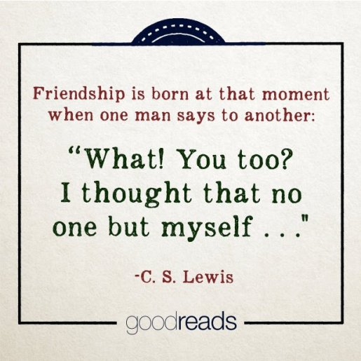 "This quote from CS Lewis' ""The Four Loves"" drew 17,142 likes on Goodreads in 2013. Courtesy: Suzanne Skyvara"