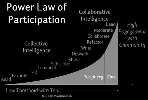 Power Law of Participation