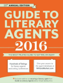 Cover to the 2016 Guide to Literary Agents