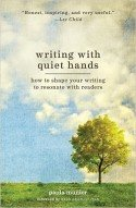 Cover for Writing with Quiet Hands (small tree against blue sky with clouds)