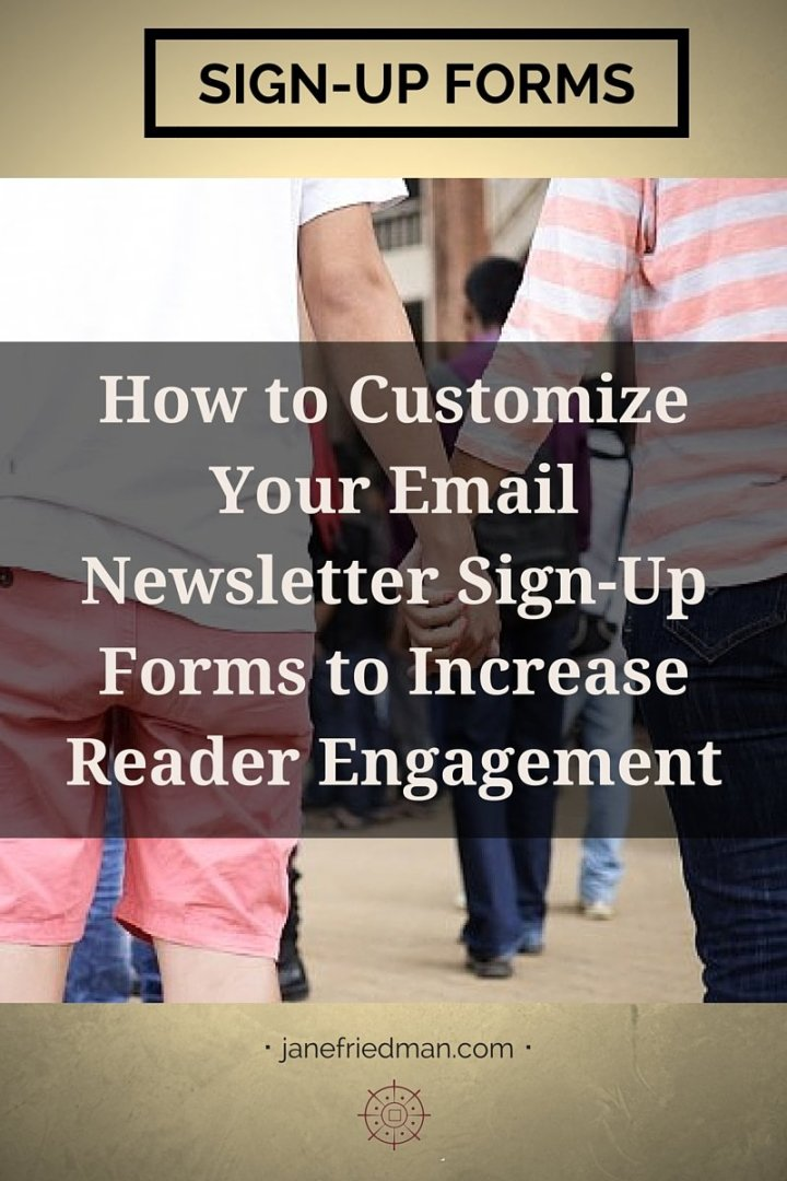 """""""The connection with your email newsletter subscribers starts much sooner than you think, in a place that many gloss over or ignore: your signup forms."""" -author Kirsten Oliphant's second post in a series about email"""