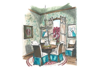 Luxurious Spaces by Leslie Sipes