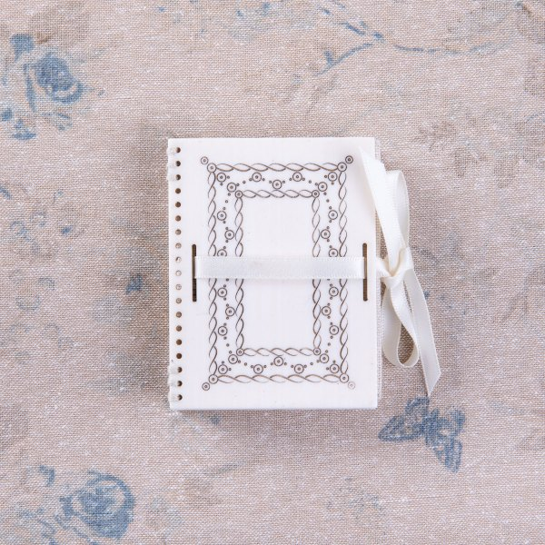 The Faux Ivory Flower Needlebook Kit