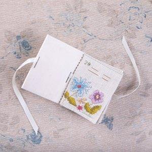 The Faux Ivory Flower Needlebook Kit
