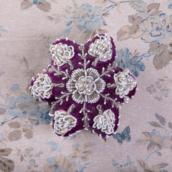 Victorian Beaded Pincushion
