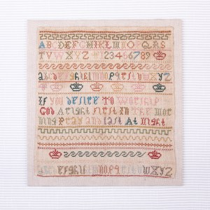 Little crowns and Alphabets Sampler