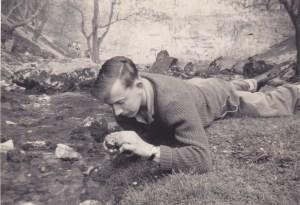 Dad botanising