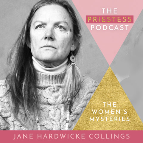 Priestess Podcast interview with Jane Hardwicke Collings