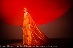 "EMBARGOED UNTIL FRIDAY 4th MARCH 2016, 7:30pm: London, UK. 02.03.2016. English National Opera presents ""Akhnaten"", composed by Philip Glass, and directed by Phelim McDermott. Picture shows: Anthony Roth Costanza (Akhnaten). Photograph © Jane Hobson."