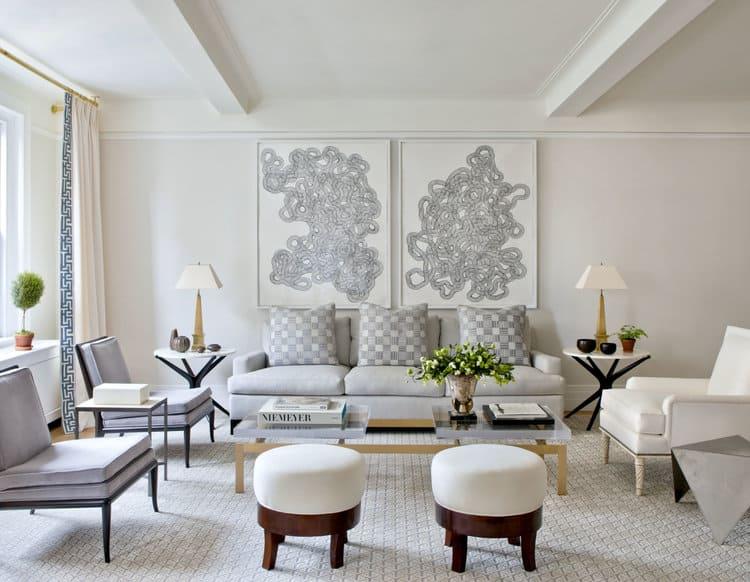 Serene living room – Design tips to steal