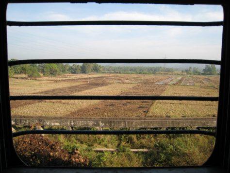 Spiegelungsfreier Fensterblick II