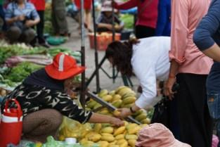 Obststand am Markt von Battambang