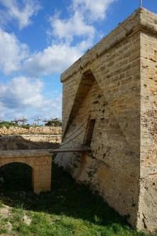 Castell Punta de n'Amer Zugbrücke