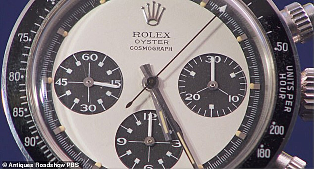 Antiques Roadshow: Veteran Brings in Rolex He Bought for ...