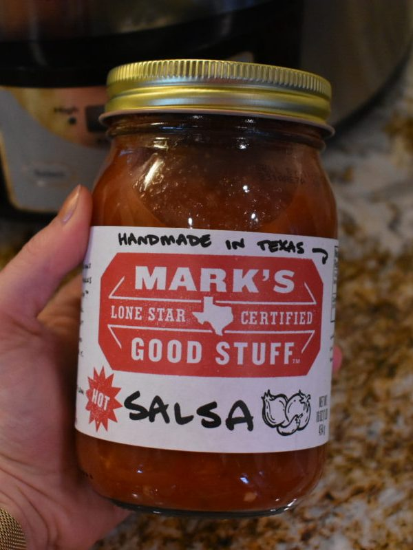 Slow Cooker: Salsa Feta Chicken