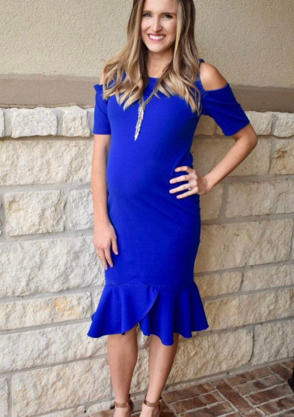 Maternity Dress for New Year's Eve!