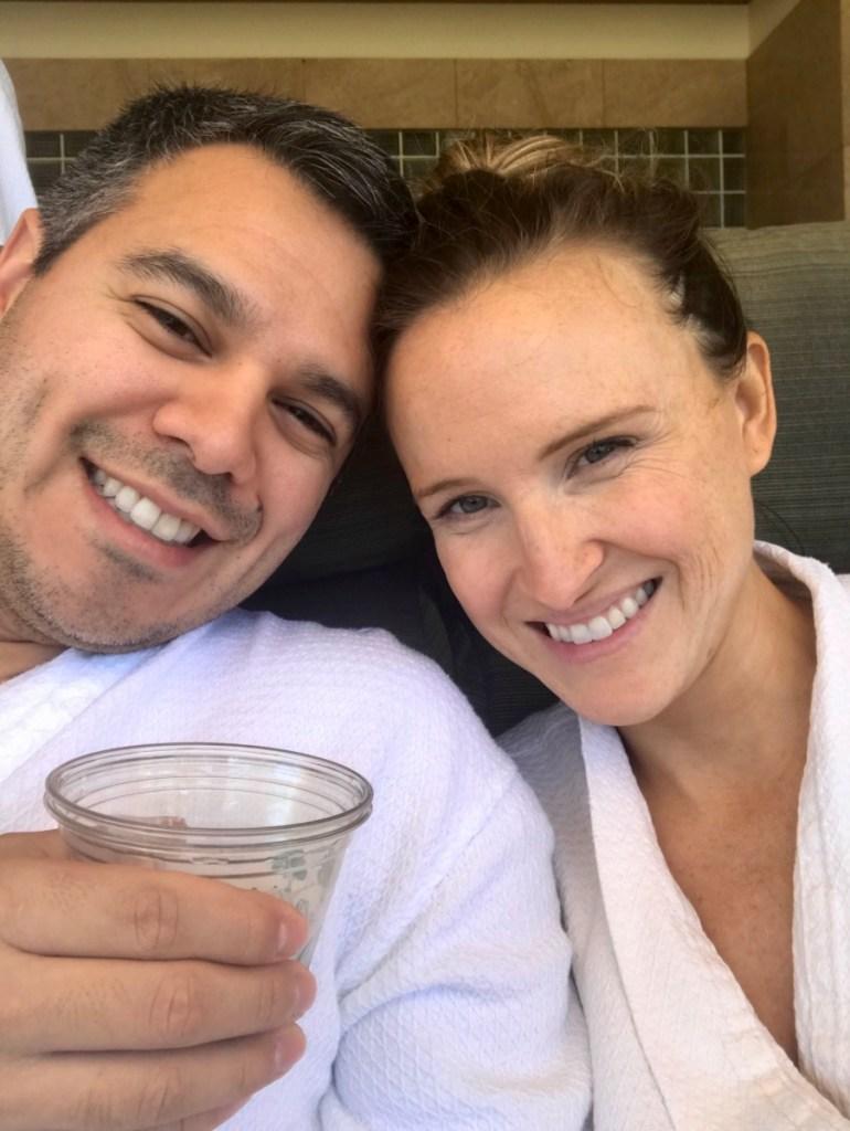 Couple at Grand Wailea Spa