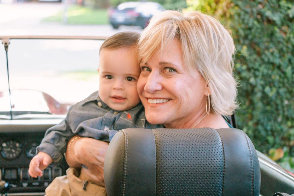 Grandmother and grandson Jujuu Photography