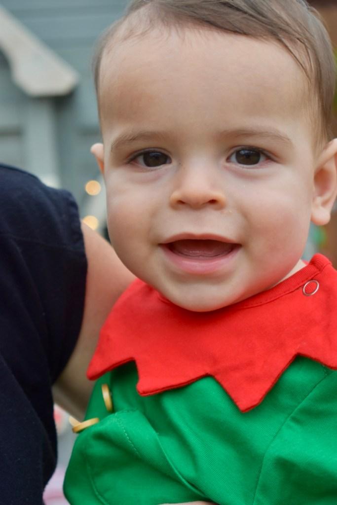 Baby boy elf