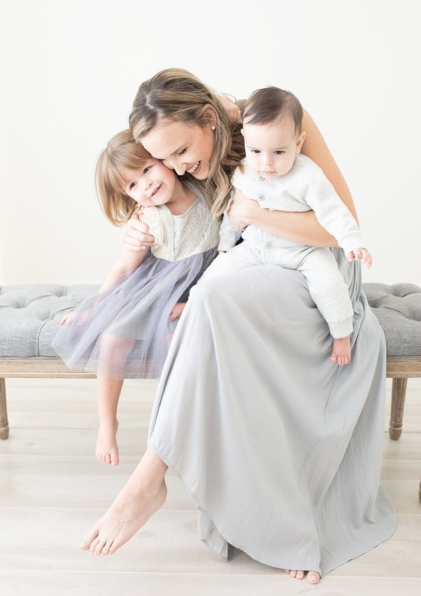 Mother daughter son hug, Amy Osborne Photography