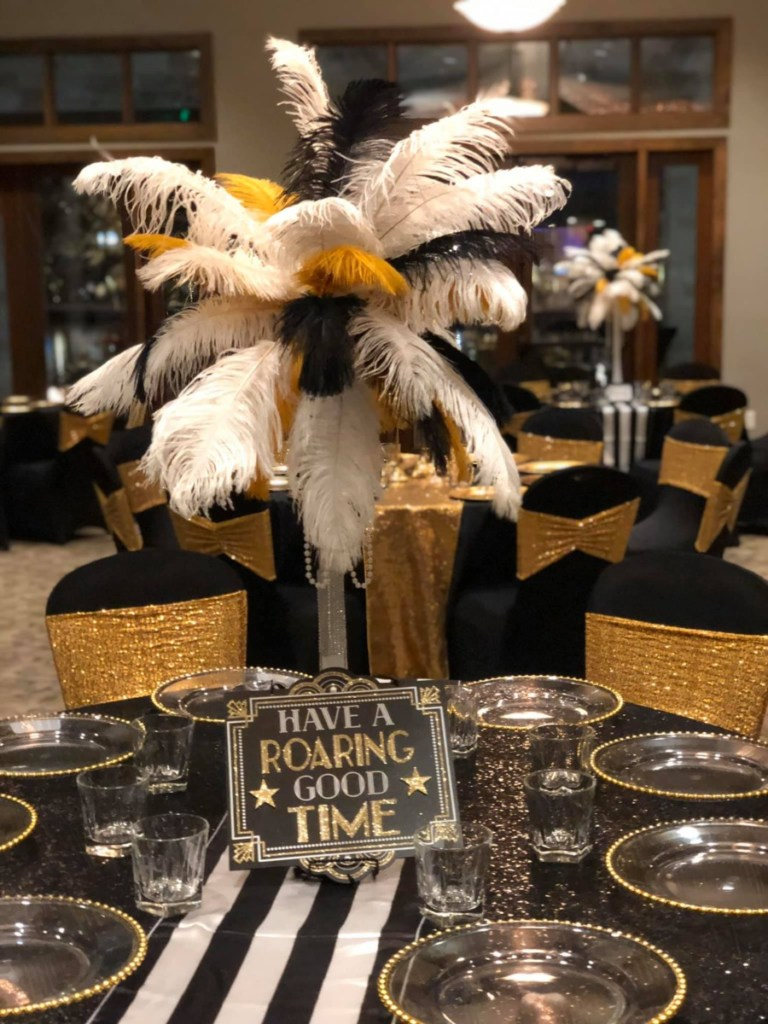 NYE Table Decorations