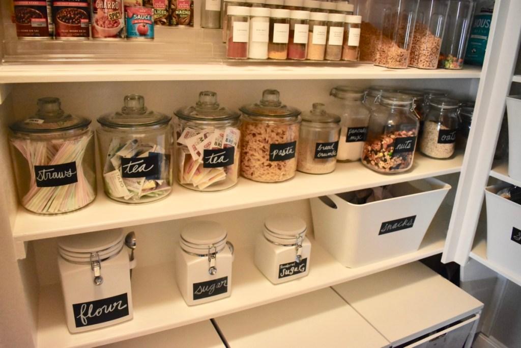 Organized Creative Design Pantry