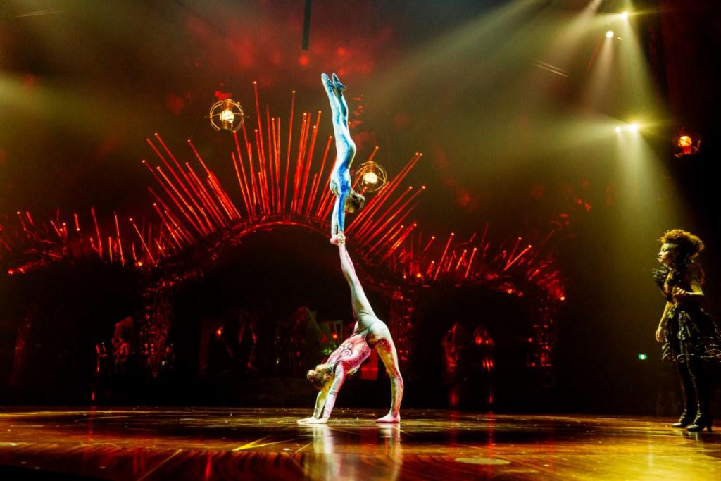Alegria Cirque du Soleil performers