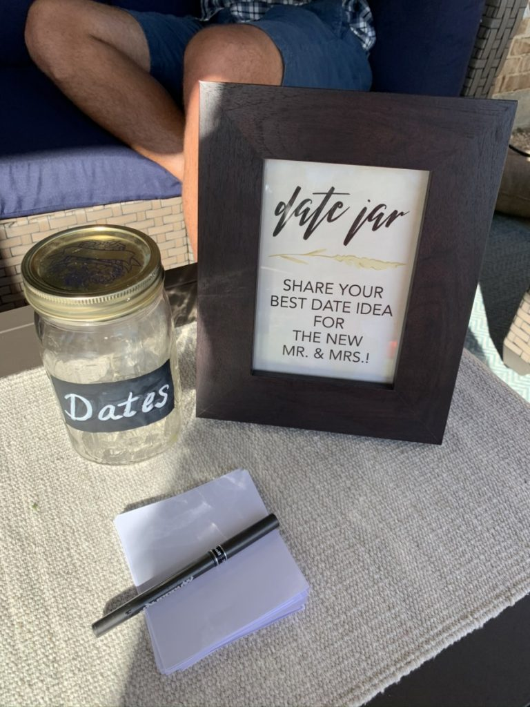 With Love and Lace Shop Date Jar