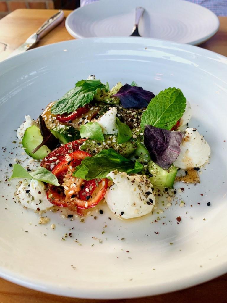 Nectarine Salad at The Lark Santa Barbara