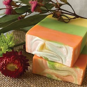 Citrus Blend Luxury Handmade Soap Bar Australian Made