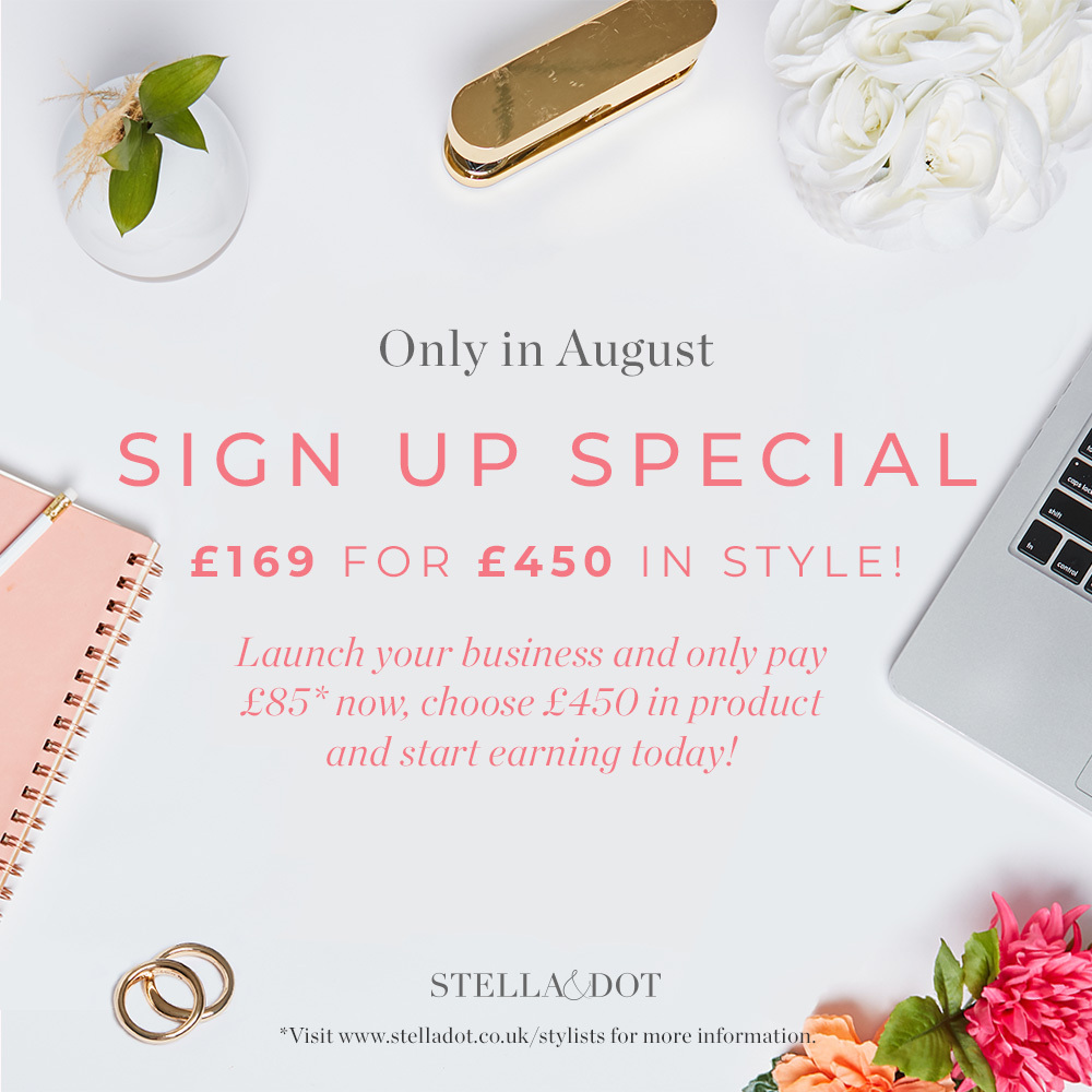 August – become a Stylist offer