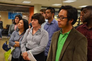 Jane on the Tech Trek, learning about the potential of tech for econ development