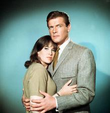 Jane with Roger Moore
