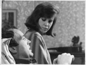 Jane Merrow with Ian Hendry BBC