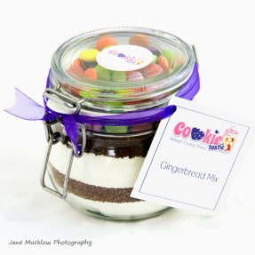 Cookietastic cookie ingredients jar, example product shot by Jane Mucklow