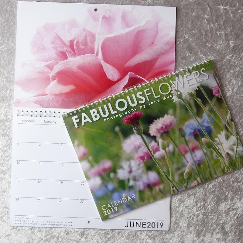 flowers 2019 calendar jane mucklow photography