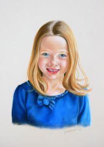Isabelle, pastel