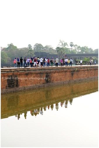 Reflection at Angkor War