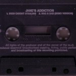 Been Caught Stealing Import Cassette Single Side 2