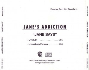 Jane Says (1997) U-Card