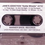 Kettle Whistle Cassette Promo Side 2