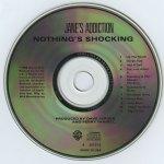 Nothing's Shocking Disc
