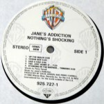 Nothing's Shocking Rubber Vinyl Side 1