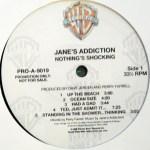Nothing's Shocking Vinyl Promo Side 1