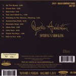 Nothing's Shocking Gold HDCD Back Cover