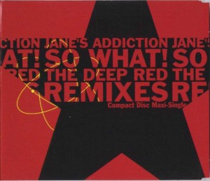 So What! The Deep Red Remixes Cover