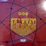 So What! Vinyl Back