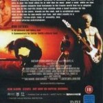 Three Days Movie UK DVD Back (18 Rating)